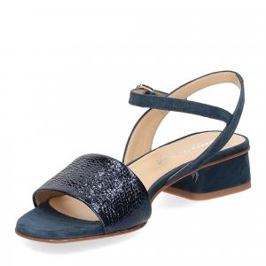 Andrea Schuster sandalo 310 in camoscio blu-4