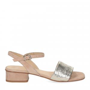 Andrea Schuster sandalo 310 in camoscio beige-2