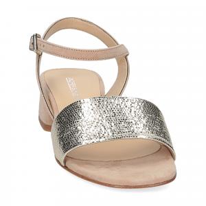 Andrea Schuster sandalo 310 in camoscio beige-3