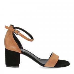 Andrea Schuster sandalo R804 camoscio nero-2