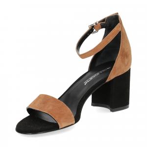 Andrea Schuster sandalo R804 camoscio nero-4