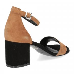Andrea Schuster sandalo R804 camoscio nero-5