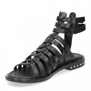 Il Laccio sandalo F-288-8 pelle nero-4