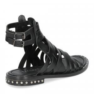 Il Laccio sandalo F-288-8 pelle nero-5