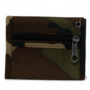 Eastpak Portafoglio militare mimetico Crew Camouflage in cordura con zip portasp