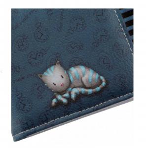 GORJUSS portafoglio donna in eco-pelle stampata 10x19 cm by SANTORO THE HATTER