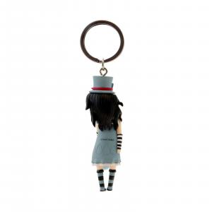 GORJUSS SANTORO portachiavi figurina in resina con anelloTHE HATTER 2018