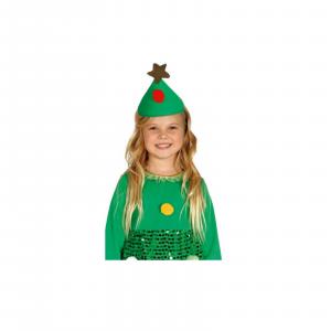 Natale Vestito vestitino bambina albero natale - idea per recite natalizie