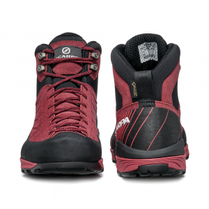 MESCALITO MID GTX WOMAN  -   Technical approach, excursions on wet terrain   -   Brown Rose-Mineral Red