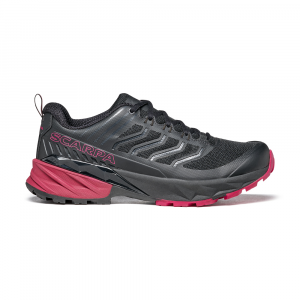 RUSH WOMAN  -   Multi-terrein fast hiking form medium and long distance  -  Black-Cherry