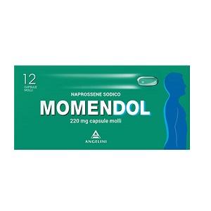 MOMENDOL CAPSULE MOLLI A BASE DI 220 MG DI NAPROSSENE