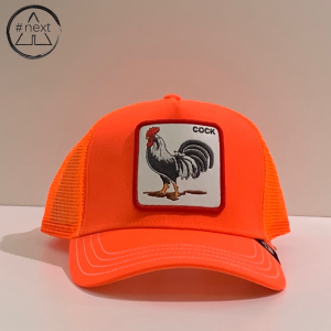 Goorin Bros - Animal Farm Truckers - Cock, arancio fluo.