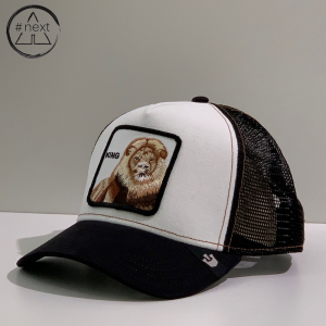 Goorin Bros - Animal Farm Truckers - King, bianco e nero