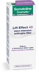 SOMATOLINE LIFT EFFECT 4D SIERO INTENSIVO ANTIRUGHE FILLER - EFFETTO LIFTING URTO