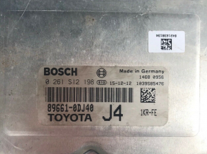 Centralina Motore Toyota Yaris 1.0 Benzina Codice 89661-0dj40