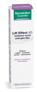 SOMATOLINE CONTORNO OCCHI LIFT EFFECT 4D - ATTENUA LE RUGHE, BORSE E OCCHIAIE