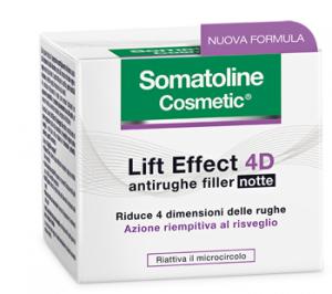 SOMATOLINE LIFT EFFECT 4D CREMA ANTIRUGHE FILLER NOTTE - AZIONE RIEMPITIVA