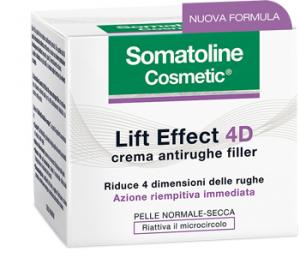 SOMATOLINE LIFT EFFECT 4D CREMA ANTIRUGHE FILLER - PER PELLE NORMALE E SECCA