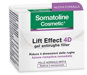 SOMATOLINE LIFT EFFECT 4D GEL ANTIRUGHE FILLER - PER PELLE NORMALE E MISTA