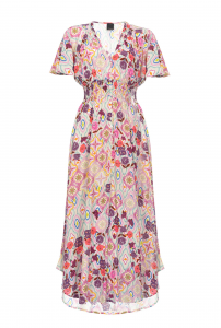 SHOPPING ON LINE PINKO ABITO STAMPA FIORE TOY STORY NEW COLLECTION WOMEN'S SPRING SUMMER 2020