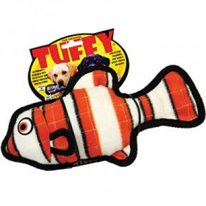 TUFFY OCEAN CREATURE JR FISH ORANGE-PESCE ARANCIONEN 20 CM