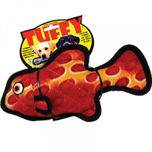 TUFFY OCEAN CREATURE JR FISH RED-PESCE ROSSO