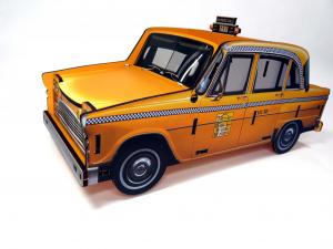 Porta penne e telecomandi Taxi