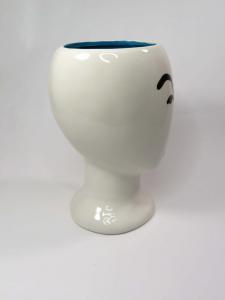 Vaso porcellana Faccia bombata