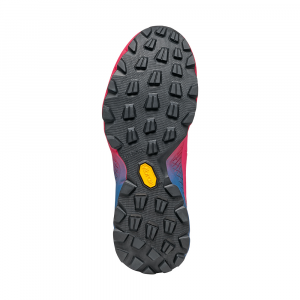 SPIN ULTRA WMN    -   Trail running model for top runners   -   Rose Fluo-Blue Steel
