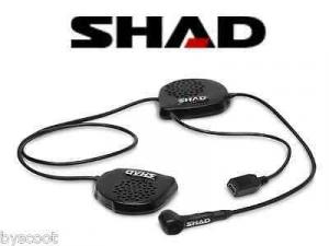 001212545 INTERFONO CASCHI MOTOCICLISTA SHAD BC22 SMARTPHONE GPS MP3