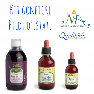 Kit Gonfiore Piedi d'Estate -20% con codice: naturautocura