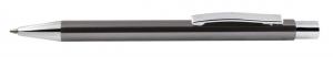 Penna alluminio grigia cm.14x1x1h