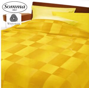 SOMMA Coperta RIFLESSI 430gr/mq 100% Lana Merino Australiano  1 Piazza, 2 piazze
