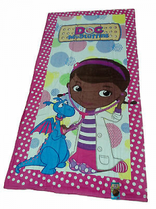 Telo - asciugamano mare Bambina, Spugna. Disney, DOC MCSTUFFINS. 75 x 150.