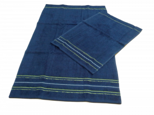 Set 12 asciugamani spugna. VINGI RICAMI, VANESSA. 6 Viso + 6 ospite. 100% Cotone