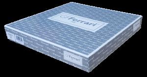 Completo letto, lenzuola in Raso di Cotone 100%. Matrimoniale GF12 GF. FERRARI