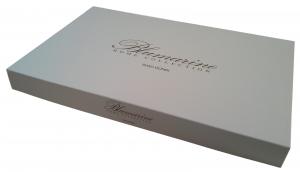 BLUMARINE. Completo lenzuola BAGLIORE 100% Percalle Cotone Matrimoniale 2 piazze