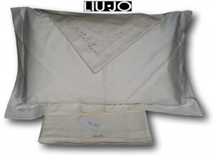 LIU JO. Completo lenzuola, BRINA in Raso di Cotone 100%. Matrimoniale, 2 piazze