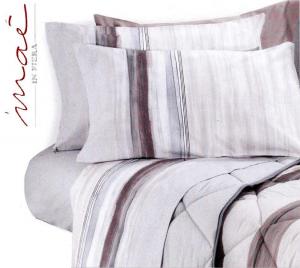 Completo letto lenzuola in Flanella, 100% Cotone. SOLEIL, MAE. Singolo, 1 piazza