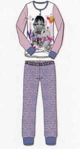 Pigiama Bimba. Maniche Lunghe + Pantalone. Jersey Cotone DISNEY VIOLETTA WD22651