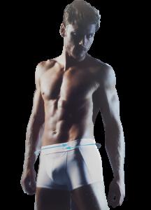 Boxer Uomo elastico esterno SCULPTURE Hipster Cotton SLOGGI Intimo Comfort
