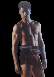 Boxer Uomo fascia vita alta SCULPTURE X Hipster Cotton SLOGGI Intimo Comfort