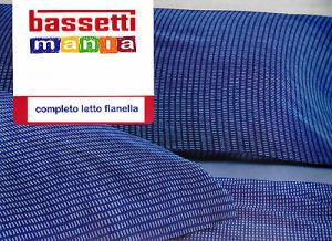 Completo Lenzuola Flanella BASSETTI. Singolo e Matrimoniale. HOPE. Lilla.