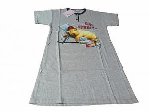 Camicia da notte mezza manica. Bimba. CUPIDO - 5101. 100% Cotone. 6 Anni.