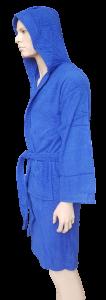 Accappatoio Unisex in Spugna. Uomo, Donna. RIVIERA Home CM180. Bagno asciugamani