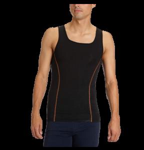 Canotta Uomo Vogatore Spalla Larga SLOGGI SCULPTURE X Vest. Intimo modellante
