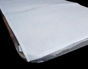 Coprirete feltro anallergico laccetti agli angoli LINEA AMBRO Singolo, 1 piazza.