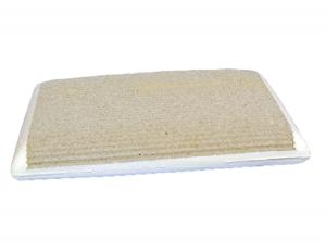 Cuscino GRAPHITE in Fibra di carbonio fodera esterna zip