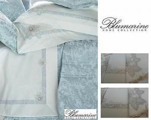 Completo lenzuola 100% Percalle Cotone. CAMELIA, BLUMARINE Matrimoniale 2 piazze