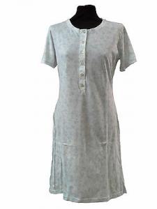 Camicia da notte, Canotte, mezza manica, 6 bottoni. 100% Cotone. MANAM, 7752.